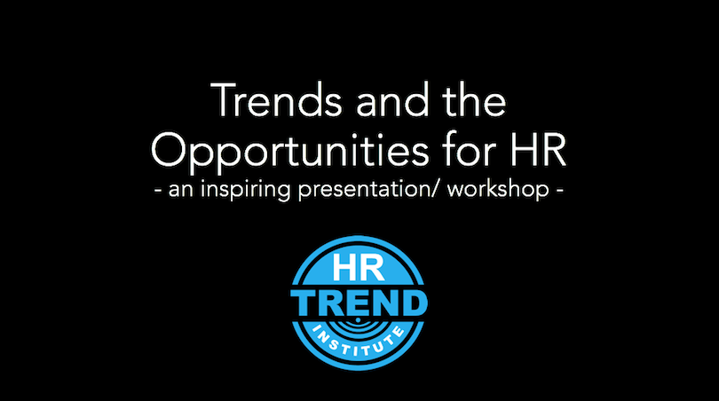 Trends and the Opportunities for HR