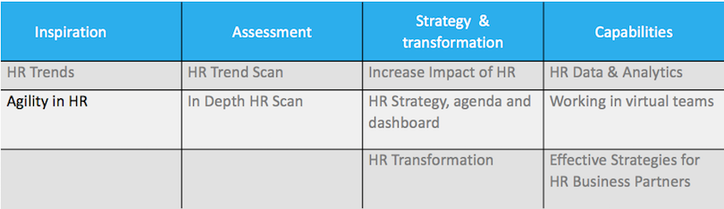 Agility in HR