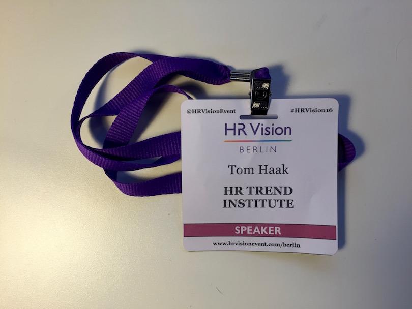 HR Vision Badge
