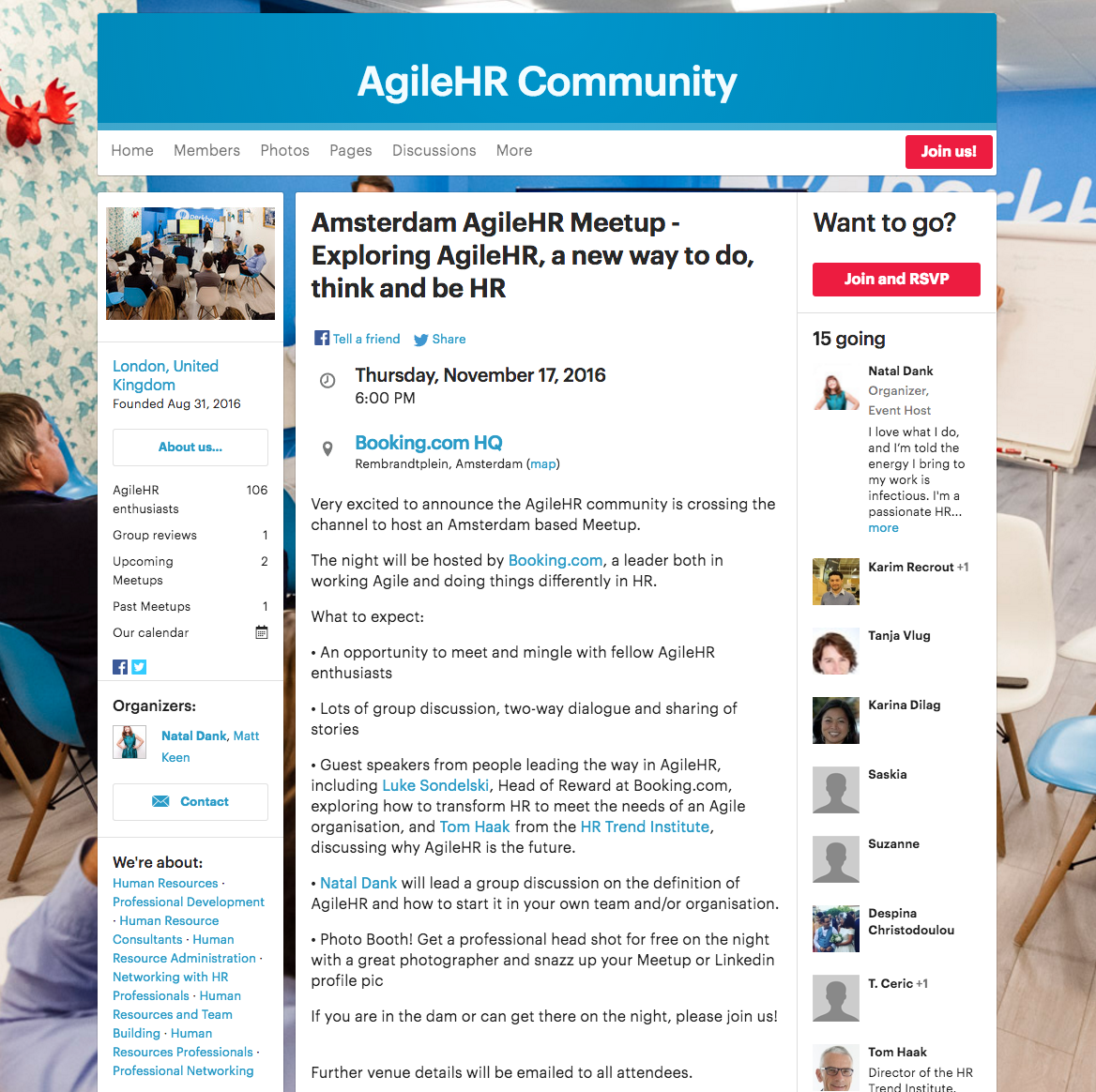 Agile HR Community