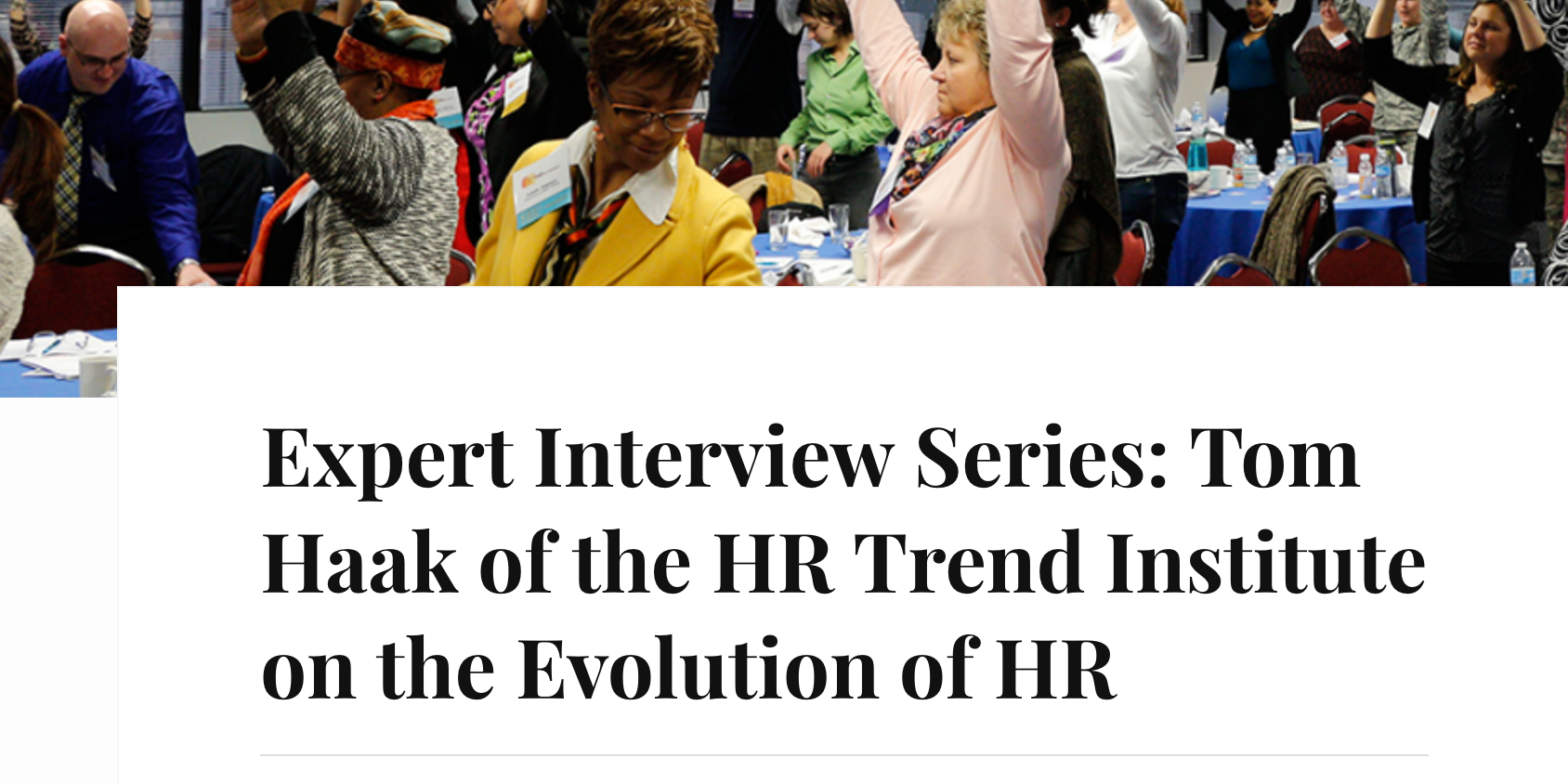 The evolution of HR