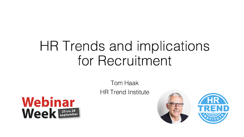 HR Trends and the implications for recruitment