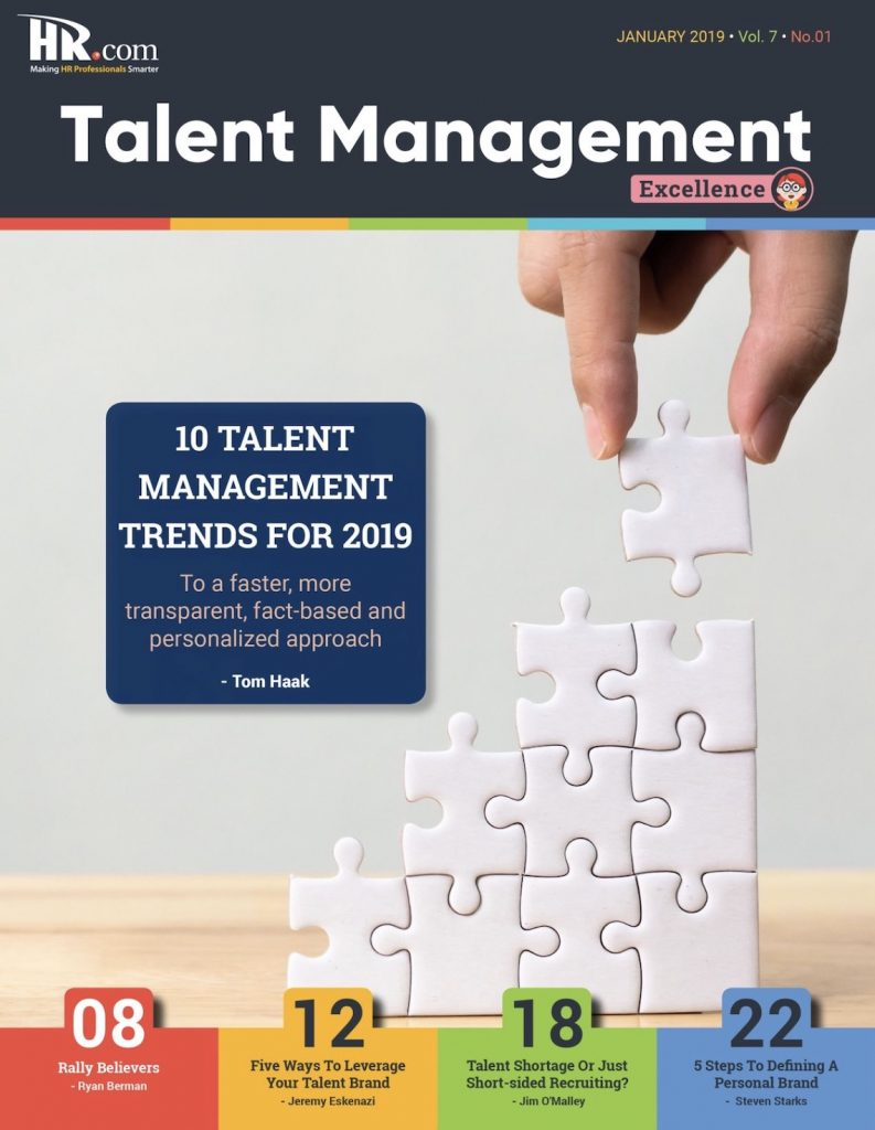 talent management cover