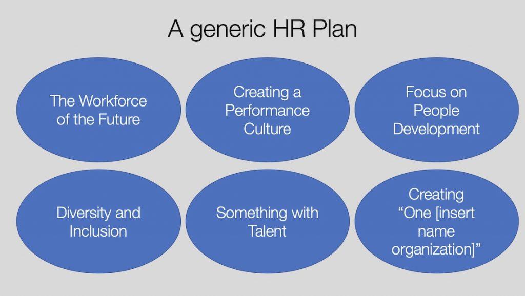 A generic HR Plan