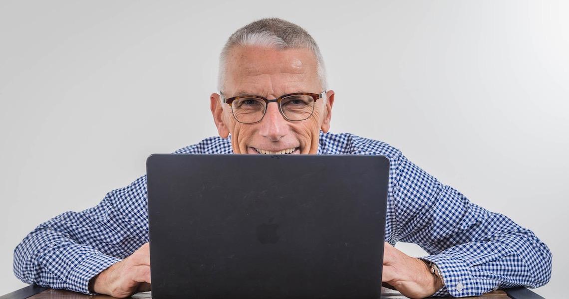 Tom Haak laptop