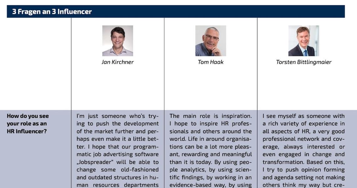 HR Influencers